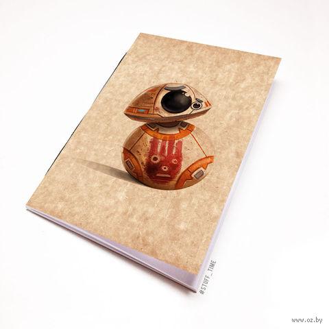 """Блокнот крафт """"Звездные войны"""" (А7; арт. 963) — фото, картинка"""
