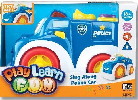 """Машинка """"Веселая полиция"""" (со световыми и звуковыми эффектами)"""