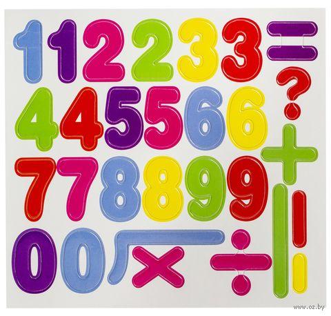 """Набор магнитов """"Цифры и знаки"""" (арт. DV-7848) — фото, картинка"""