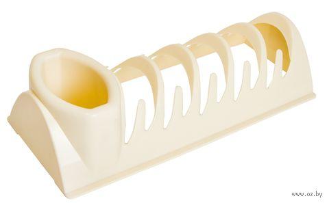"""Сушилка для посуды """"Compact"""" (слоновая кость) — фото, картинка"""