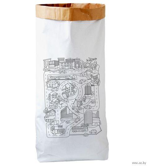 """Эко-мешок для хранения игрушек """"Город"""" — фото, картинка"""