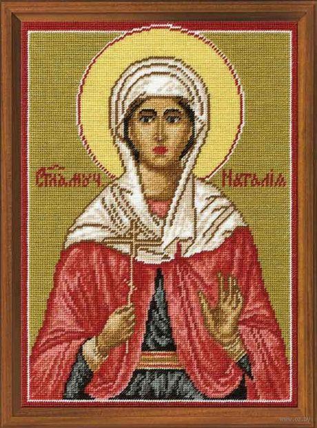 """Вышивка крестом """"Святая мученица Наталия"""" (180х250 мм) — фото, картинка"""