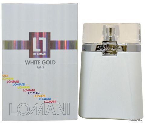 "Туалетная вода для мужчин ""White Gold"" (100 мл) — фото, картинка"