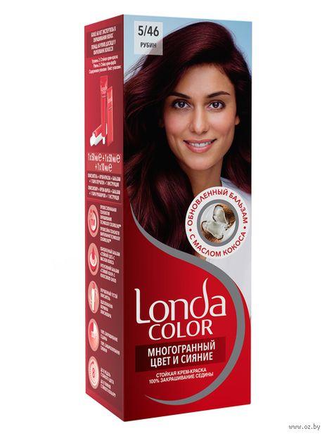 "Крем-краска для волос ""LondaColor"" (тон: 43, рубин)"