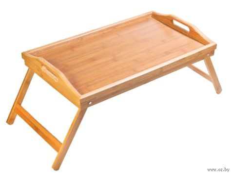 Столик-поднос бамбуковый (300х500 мм; арт. BB3002) — фото, картинка