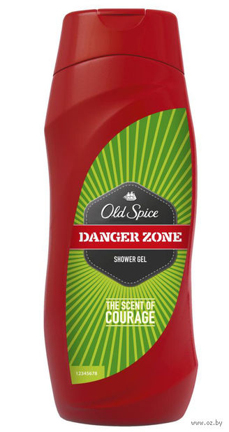 "Гель для душа Old Spice ""Danger Zone"" (250 мл)"