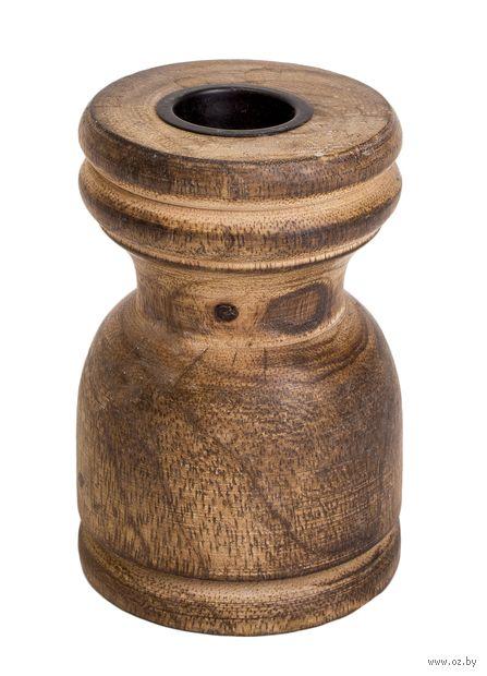 Подсвечник деревянный (95х55 мм)