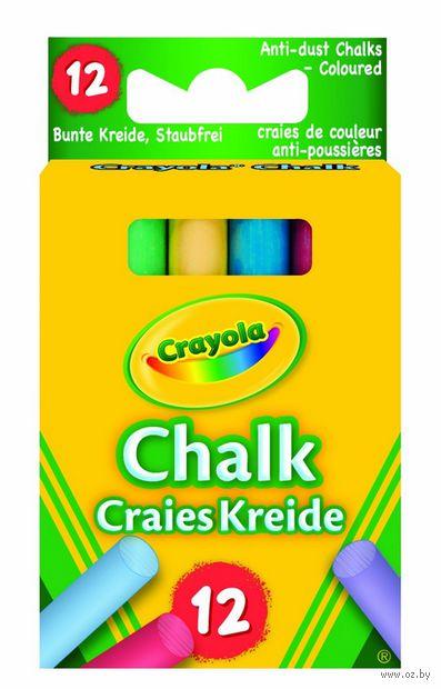 """Мелки цветные """"Crayola"""" (6 цветов)"""