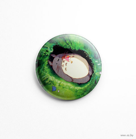 "Значок маленький ""Тоторо"" (арт. 138) — фото, картинка"