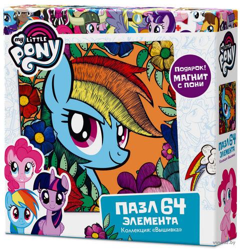 "Пазл ""My Little Pony. Радуга Дэш"" (64 элемента) — фото, картинка"