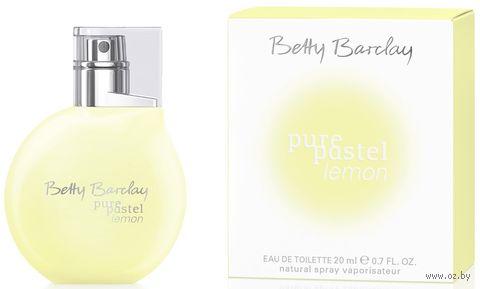 "Туалетная вода для женщин Betty Barclay ""Pure Pastel Lemon"" (20 мл) — фото, картинка"
