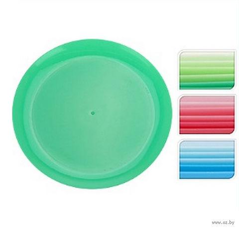 Тарелка пластмассовая (6 шт.; 210 мм)