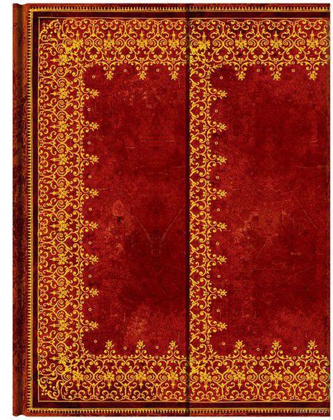 """Записная книжка Paperblanks """"Фольгированное тиснение"""" нелинованная (формат: 180*230 мм, ультра)"""