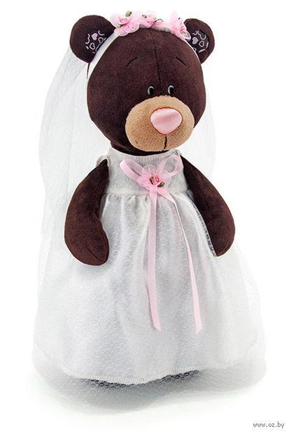 """Мягкая игрушка """"Медведь Milk. Невеста"""" (30 см)"""