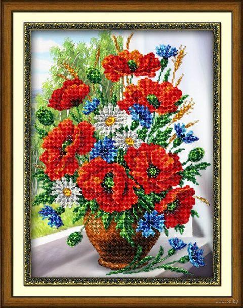 """Вышивка бисером """"Любимые цветы"""" (280х380 мм) — фото, картинка"""