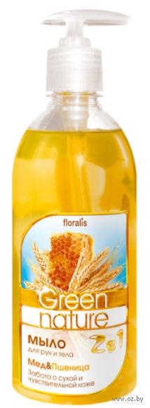 """Жидкое мыло """"Мед и Пшеница"""" (500 мл)"""