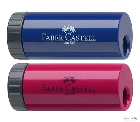 """Точилка """"Faber-Castell"""" с контейнером (ассорти)"""