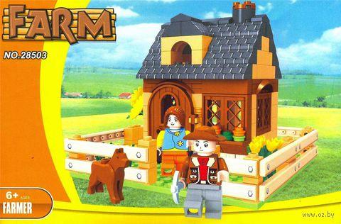 """Конструктор """"Ферма. Семья фермера"""" (210 деталей) — фото, картинка"""