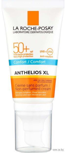 """Крем для лица солнцезащитный """"Anthelios XL"""" SPF 50+ (50 мл) — фото, картинка"""