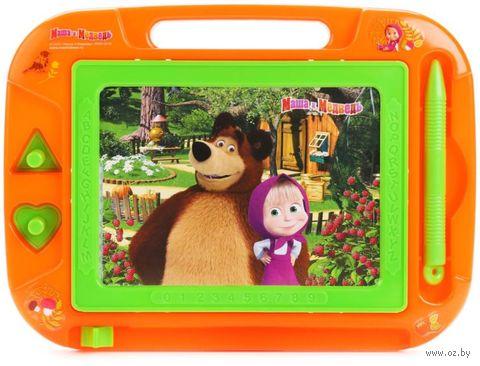 """Доска для рисования """"Маша и Медведь"""" (арт. HS8006KMB) — фото, картинка"""