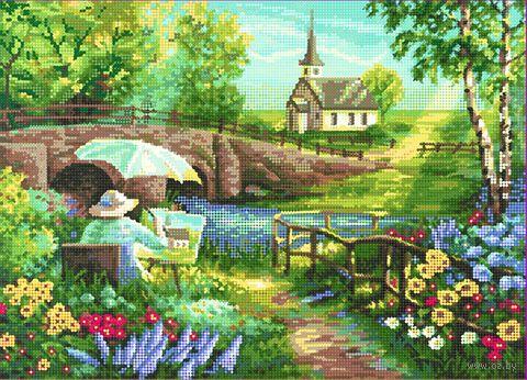 """Алмазная вышивка-мозаика """"Зарисовки художника"""" (500х360 мм) — фото, картинка"""