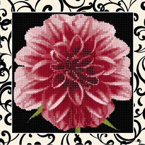 """Алмазная вышивка-мозаика """"Георгин"""" (250х250 мм) — фото, картинка"""