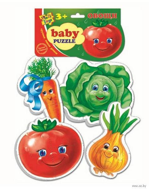 """Набор пазлов """"Овощи"""" (3+4+4+5 элементов)"""