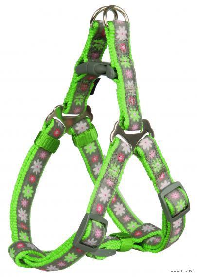 "Шлея ""Modern Art. Harness Blooms"" (25-35 см; зеленый) — фото, картинка"