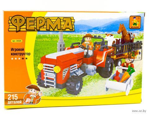 "Конструктор ""Ферма. Перевозка скота"" (215 деталей) — фото, картинка"