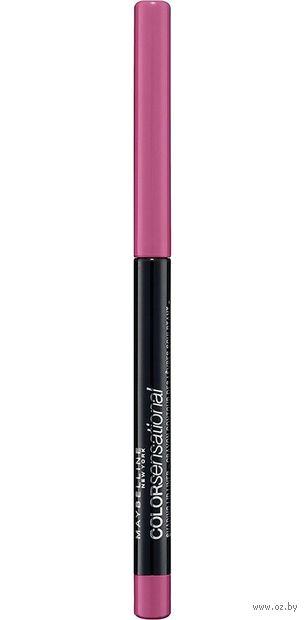 """Карандаш для губ """"Color Sensational"""" тон: 60, бледно-розовый — фото, картинка"""