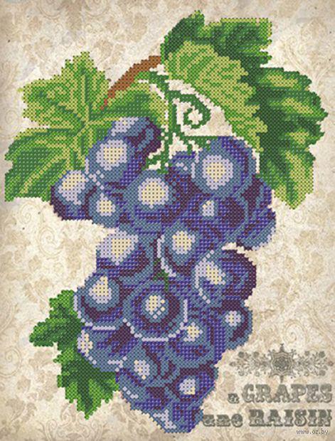 """Вышивка бисером """"Виноград"""" (250х190 мм) — фото, картинка"""