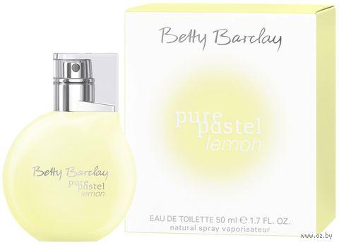 "Туалетная вода для женщин Betty Barclay ""Pure Pastel Lemon"" (50 мл) — фото, картинка"