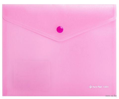 Папка-конверт (А5; розовая) — фото, картинка