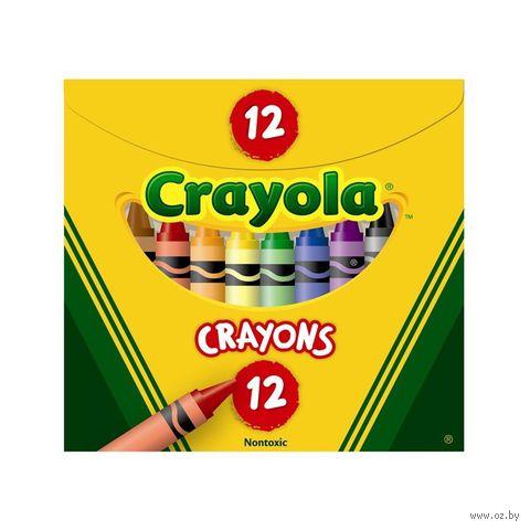 """Мелки восковые """"Crayola"""" (12 цветов)"""