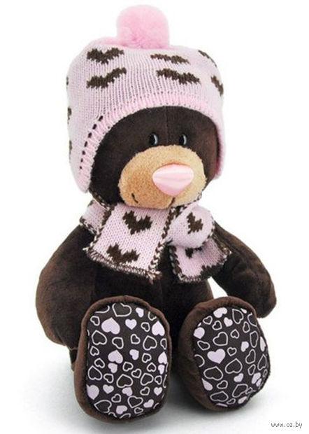 "Мягкая игрушка ""Медведь Milk. Зима"" (20 см)"