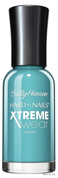 "Лак для ногтей ""Hard as nails xtreme wear"" (тон: 325, бирюзовый) — фото, картинка"