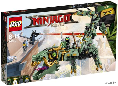 "LEGO The Ninjago Movie ""Механический Дракон Зеленого Ниндзя"" — фото, картинка"