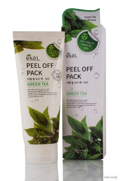 """Маска-пленка для лица """"С экстрактом зеленого чая"""" (180 мл) — фото, картинка"""