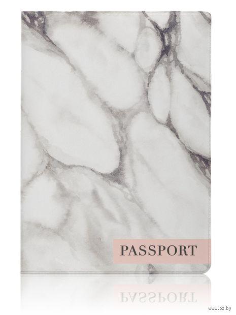 """Обложка для паспорта """"Marble"""" — фото, картинка"""