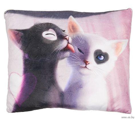 """Подушка """"Мартовские коты"""" — фото, картинка"""