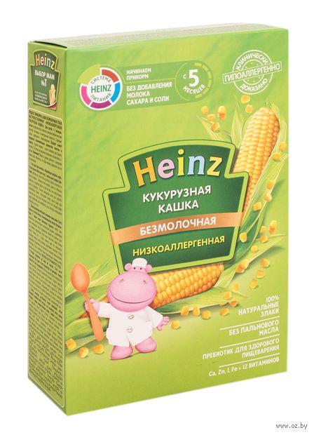 """Детская каша Heinz Baby """"Низкоаллергенная кукурузная"""" (200 г) — фото, картинка"""