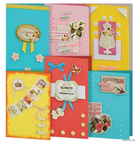 """Набор для изготовления открыток """"Принцесса"""" (6 шт.) — фото, картинка"""