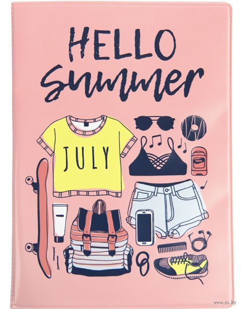 "Обложка на паспорт ""Привет, лето!"" — фото, картинка"