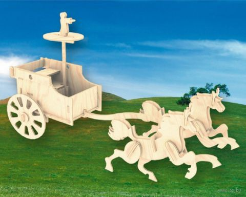 """Сборная деревянная модель """"Боевая колесница"""""""