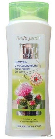 """Шампунь-кондиционер для волос """"Репейное масло и протеины шелка"""" (400 мл)"""
