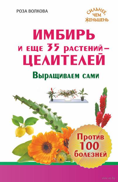 Имбирь и еще 35 растений Целителей. Выращиваем сами. Против 100 болезней. Роза Волкова