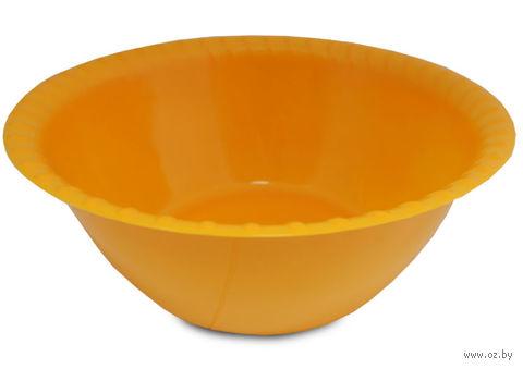 Миска пластмассовая (2,5 л; арт. С43) — фото, картинка