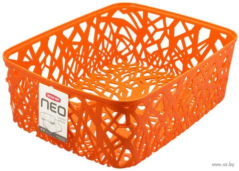 """Корзина """"Neo colors"""" (377х290х127 мм; оранжевая)"""