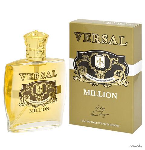 """Туалетная вода для мужчин """"Versal Million"""" (60 мл) — фото, картинка"""