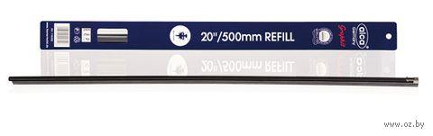 """Резинки для щёток стеклоочистителя """"Single Edge"""" (2 шт.; 50 см; арт. 687) — фото, картинка"""